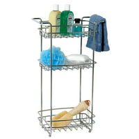 Zenith Products 12.5'' W x 22'' H Bathroom Shelf