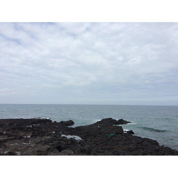 Jeju Island Beaches: Waves Jeju Island Beach Jeju Island Sea Photo Sea-20 Inch