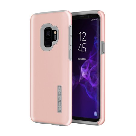 UPC 191058066459 product image for Incipio Samsung Galaxy S9 DualPro Case - Iridescent Rose Quartz/Gray | upcitemdb.com