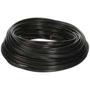 Southwire 55213443 12/2 AWG 100' Black Stranded Low Voltage Landscape Lighting Underground Cable