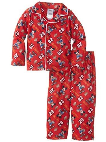 Disney Mickey Mouse Footed Sleeper Blanket Pajama Boy Size 4T