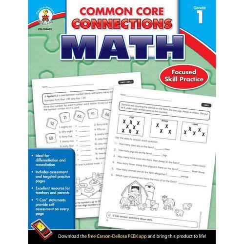 Common Core Connections, Math, Grade 1: 2013