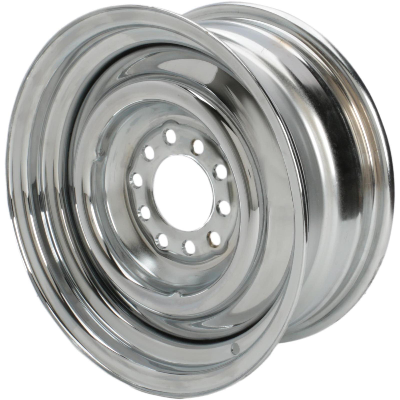 Speedway Smoothie 14x6  Steel Wheel, 5 on 4.5/4.75, 3.75 BS