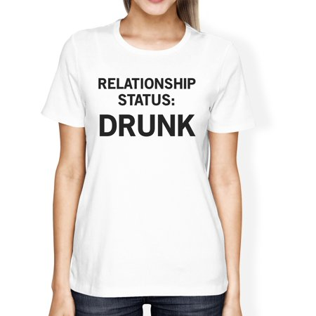 Relationship Status Womens Cute Tee Funny Graphic Trendy