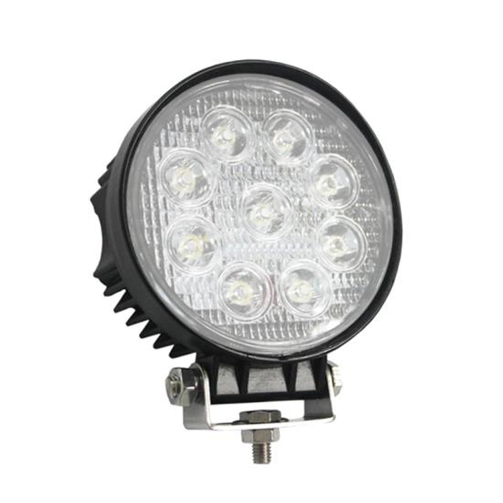 """LED Lamp Spot Light - Water Resistant Beam Flood Light (27 Watt, 4.4"""")"""