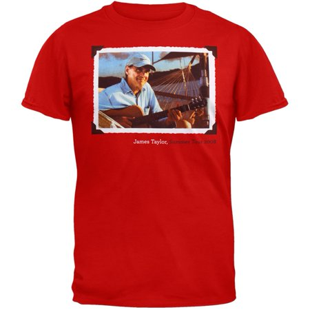 James Taylor - Framed Photo 08 Tour T-Shirt