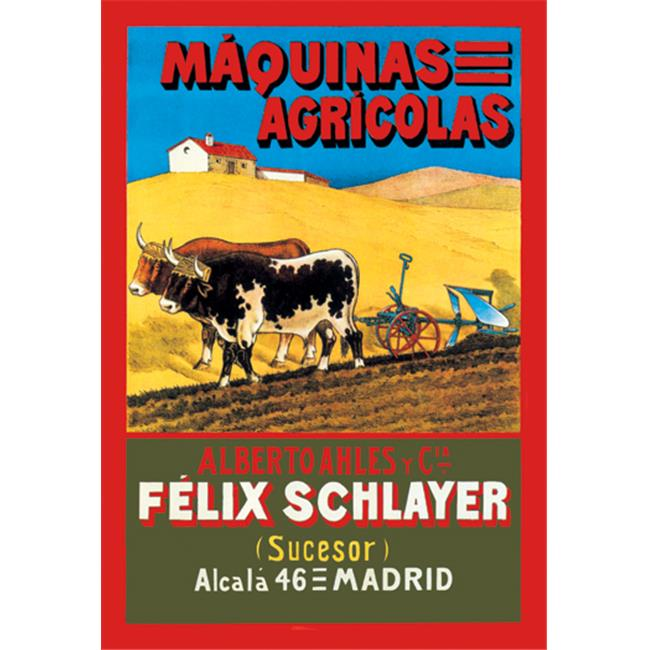 Buy Enlarge 0-587-01143-2P12x18 Maquinas Agricolas- Paper Size P12x18