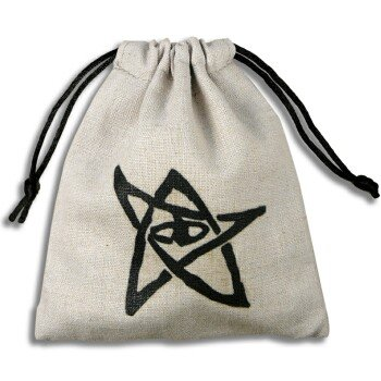 Q-Workshop BCTH101 Call Of Counthulhu Dice Bag - White