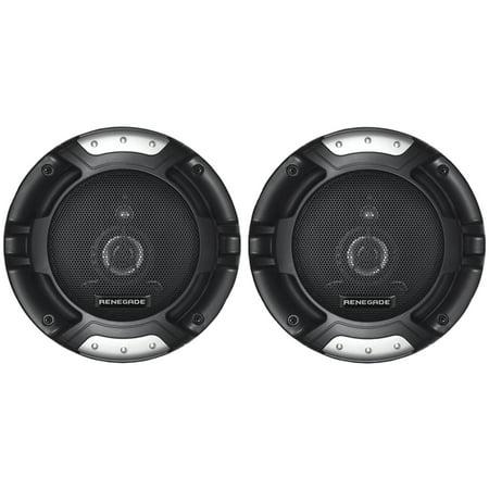 Renegade Rx62 Rx Series Full-range Coaxial Speakers (6.5