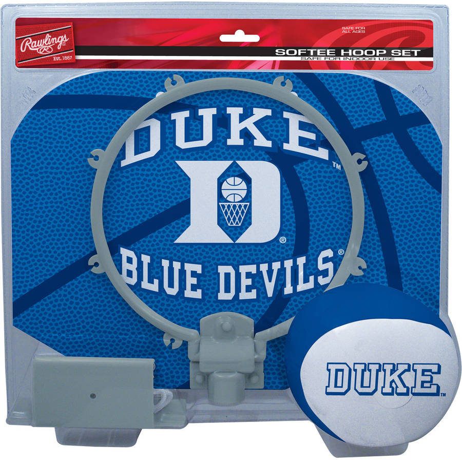 Rawlings NCAA Slam Dunk Softee Hoop Set Duke University Blue Devils