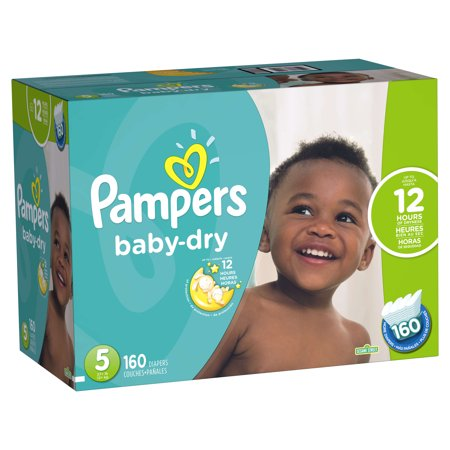 Pampers Baby Dry Diapers  Choose Diaper Size And Count