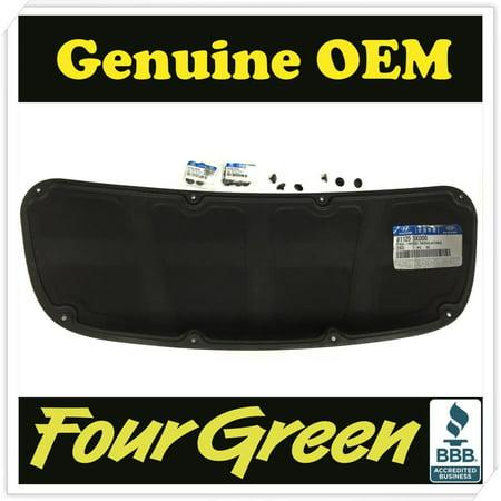 E30 Hood Pad (Genuine Bonnet Hood Insulating Pad 11-15 Elantra OEM[811253X000][8112637000Ax10])
