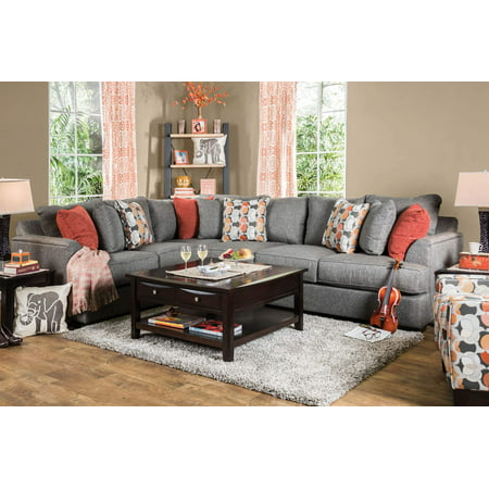 Furniture Of America Engel Shaped Sectional Multiple