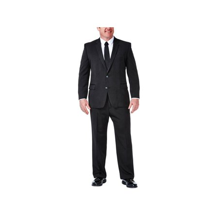 Big & Tall Travel Performance Suit Separate Jacket Classic Fit HZ90266 Big And Tall Suit