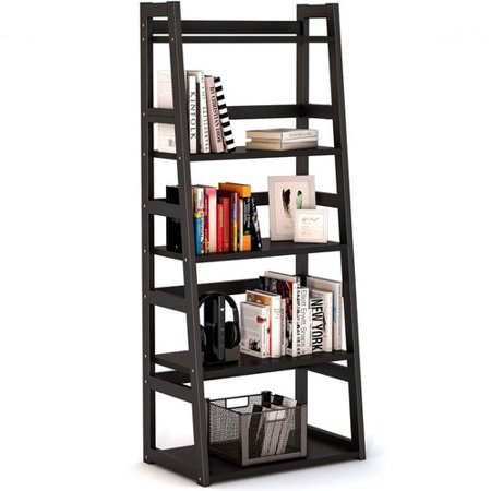 5 Tier Ladder - Ebern Designs Mosquera 5 Tier Ladder Bookcase with Strong Metal Frame