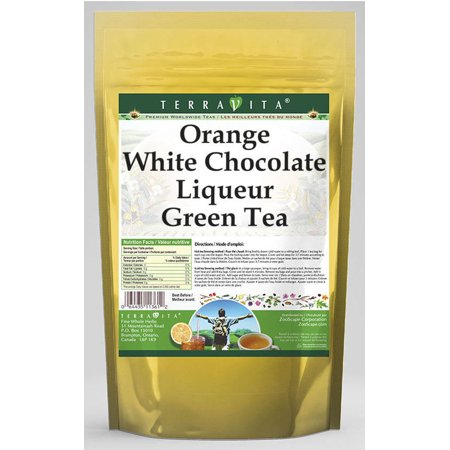 Orange White Chocolate Liqueur Green Tea (50 tea bags, ZIN: 540110) - 2-Pack