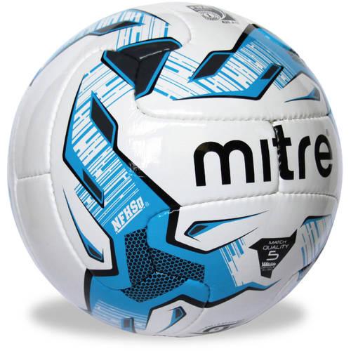 Mitre #5 Monde V12S with NFHS Soccer Ball