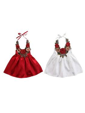 0973ac498 Toddler Girls Dresses   Rompers - Walmart.com