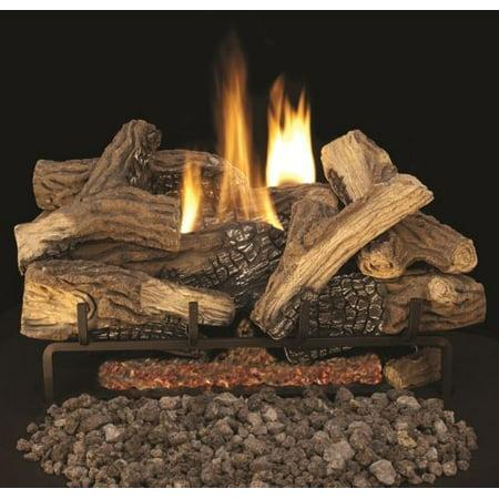 Vent Free Mixed Oak Fiber Gas Logs 30