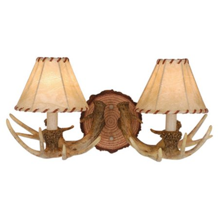 Mission Lodge Outdoor Sconce (Vaxcel Lodge WL33042NS Wall Sconce )