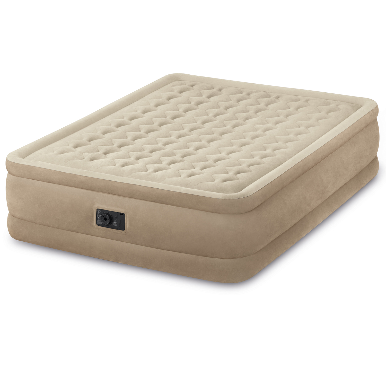INTEX QUEEN ULTRA PLUSH Air Mattress W BIP - Walmart.com