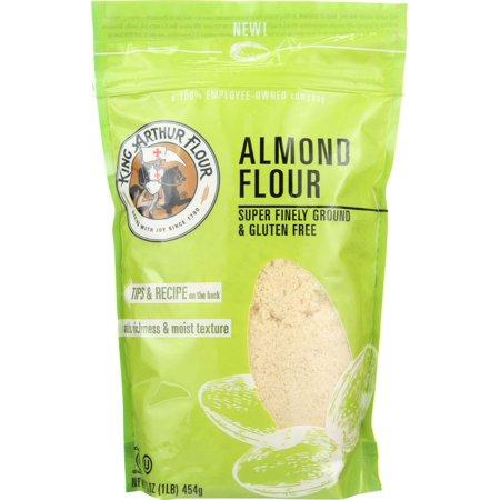 King Arthur Flour Flour, Almond, 16 Oz (Pack Of 4
