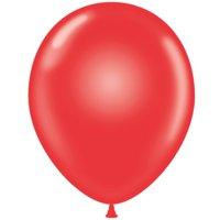 "Tuf-Tex 24"" Crystal Red Latex Balloons (25 ct)"