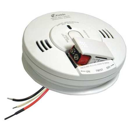 Kidde Batteries 120-Volt Hardwired Inter Connectable Smoke and Carbon Monoxide Alarm with... by KIDDE