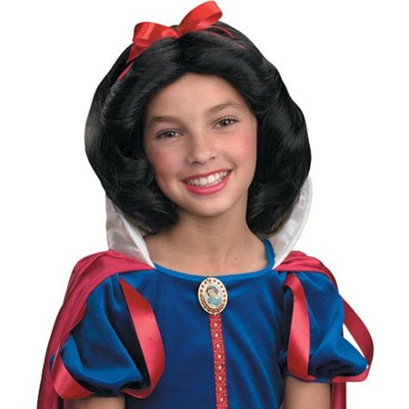 Snow White Wig Child (Disney Snow White Child Costume)