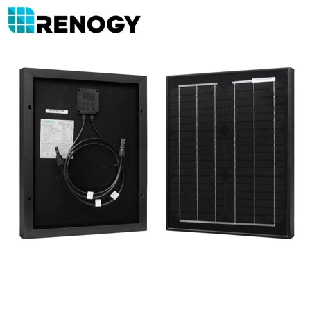 Renogy 20W Watts Mono Solar Panel Off Grid 12 Volt 12V Rv Boat Battery Charger