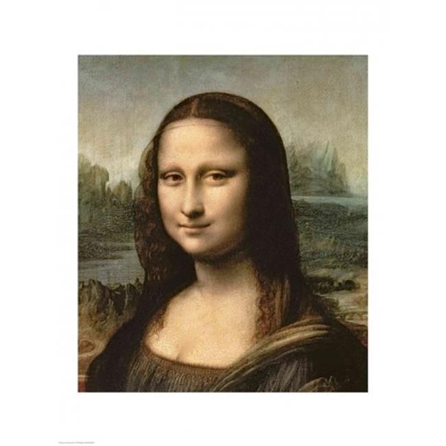 Mona Lisa Smoking Poster Poster Print 24x36