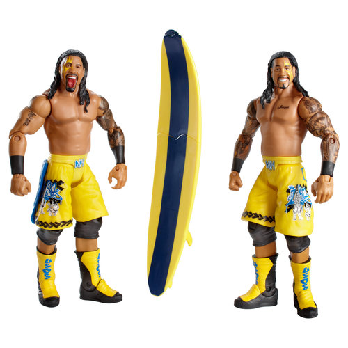 WWE USOS with Surfboard Action Figures, 2-Pack