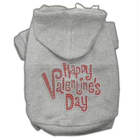 Mirage Pet Products 54-85 LGGY Happy Valentines Day Rhinestone Hoodies Grey L - 14 Happy Valentines Day Rhinestone Hoodies Grey L (14)Product Summary : New Pet Products/Happy Valentines Day Rhinestone Hoodies@Pet Apparel/Dog Hoodies/Rhinestone Hoodies/Happy Valentines Day Rhinestone Hoodies@Pet Products for Events and Holidays/Valentines Day Pet Accessories/Happy Valentines Day Rhinestone Hoodies- SKU: MR54-85LGGY
