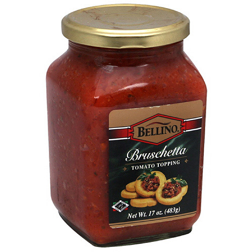 Bellino Bruschetta Tomato Topping, 13 oz (Pack of 6)