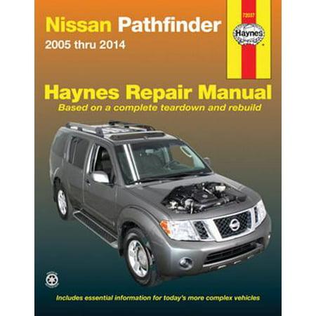 Nissan Technical Manual (Nissan Pathfinder 2005 Thru 2014)