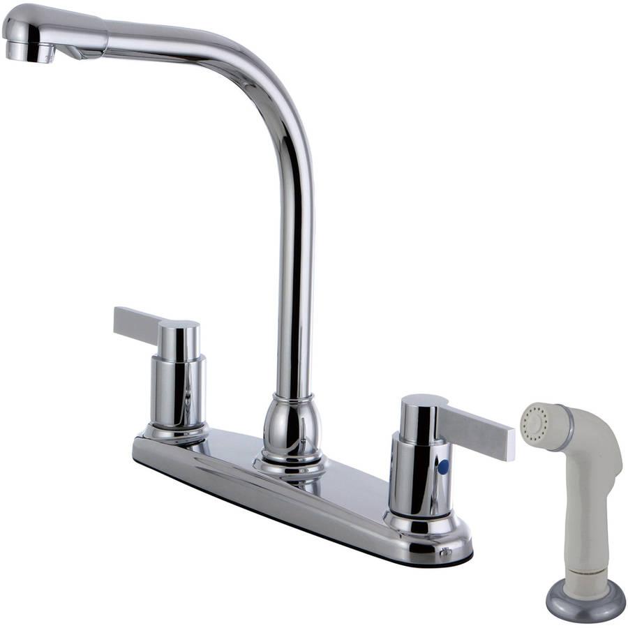 """Kingston Brass FB2751NDL 8"""" Centerset Kitchen Faucet"""