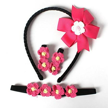 La Ribbon hairband for girls Multiple Styles Colorful Hair Clips Bow Hair  Pins - Walmart.com c442e9fc732