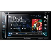 """Pioneer AVH-X2700BS 6.2"""" Double-DIN DVD Receiver with Bluetooth, Siri Eyes Free, SiriusXM-Ready, Android Music Support and Pandora Internet Radio"""