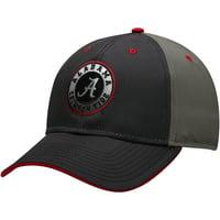 Men's Charcoal Alabama Crimson Tide Blackball Gradient Adjustable Hat - OSFA
