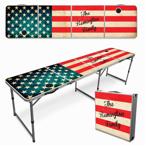 Personalized Tailgate/Beer Pong Table