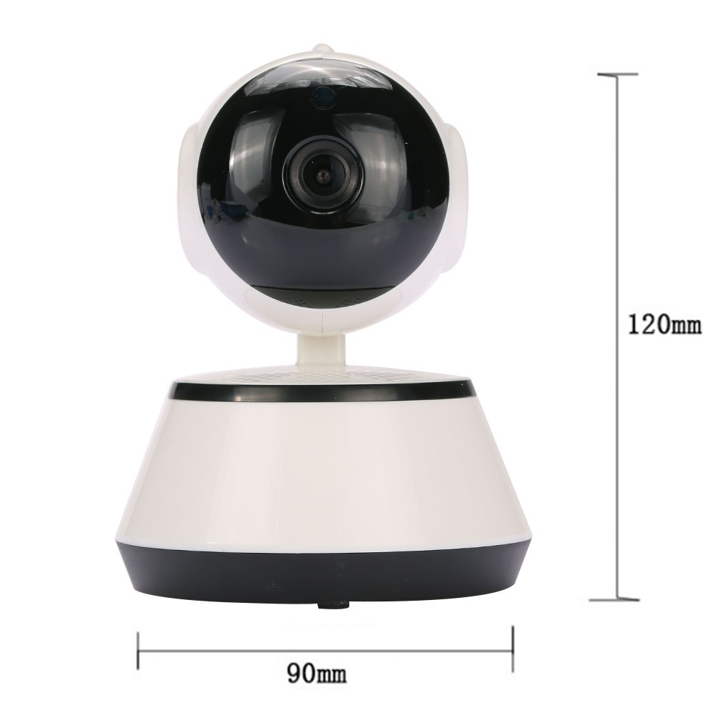 720P HD Wireless Wifi IP Camera Webcam Baby Pet Monitor CAM Pan Remote Home Security Network Night Vision Wifi Webcam with US Plug