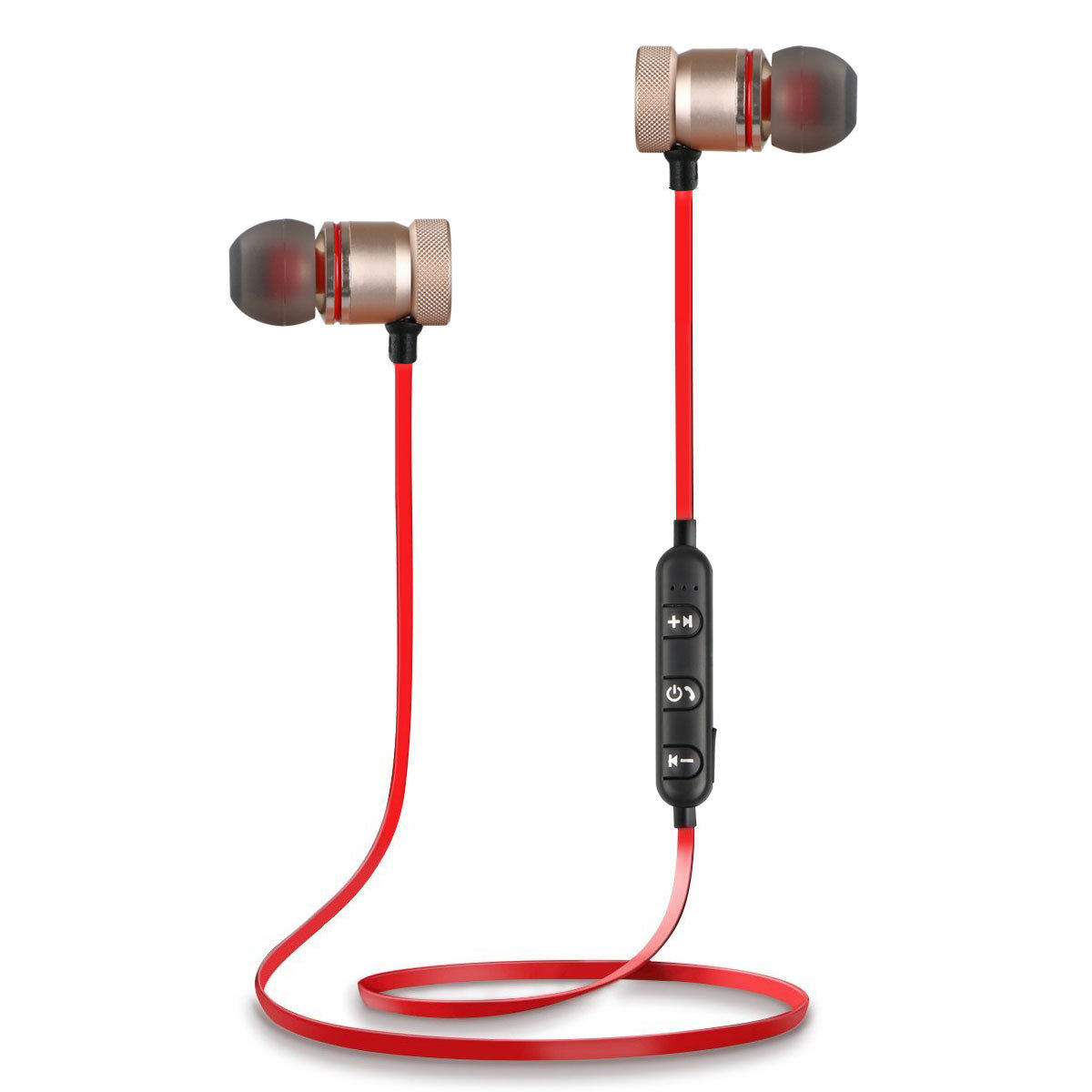 Bluetooth 4 1 Headphones Wireless Magnetic Sports Earphones Earbuds Gym Headset For Iphone Xs Xr X 8 7 6 Plus Samsung S10 S10e S9 S9 Plus Note9 8 5 Walmart Com Walmart Com