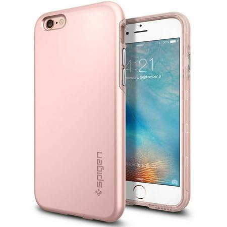 new style 90f1b b29b2 Spigen Thin Fit Hybrid Apple iPhone 6S Plus Case