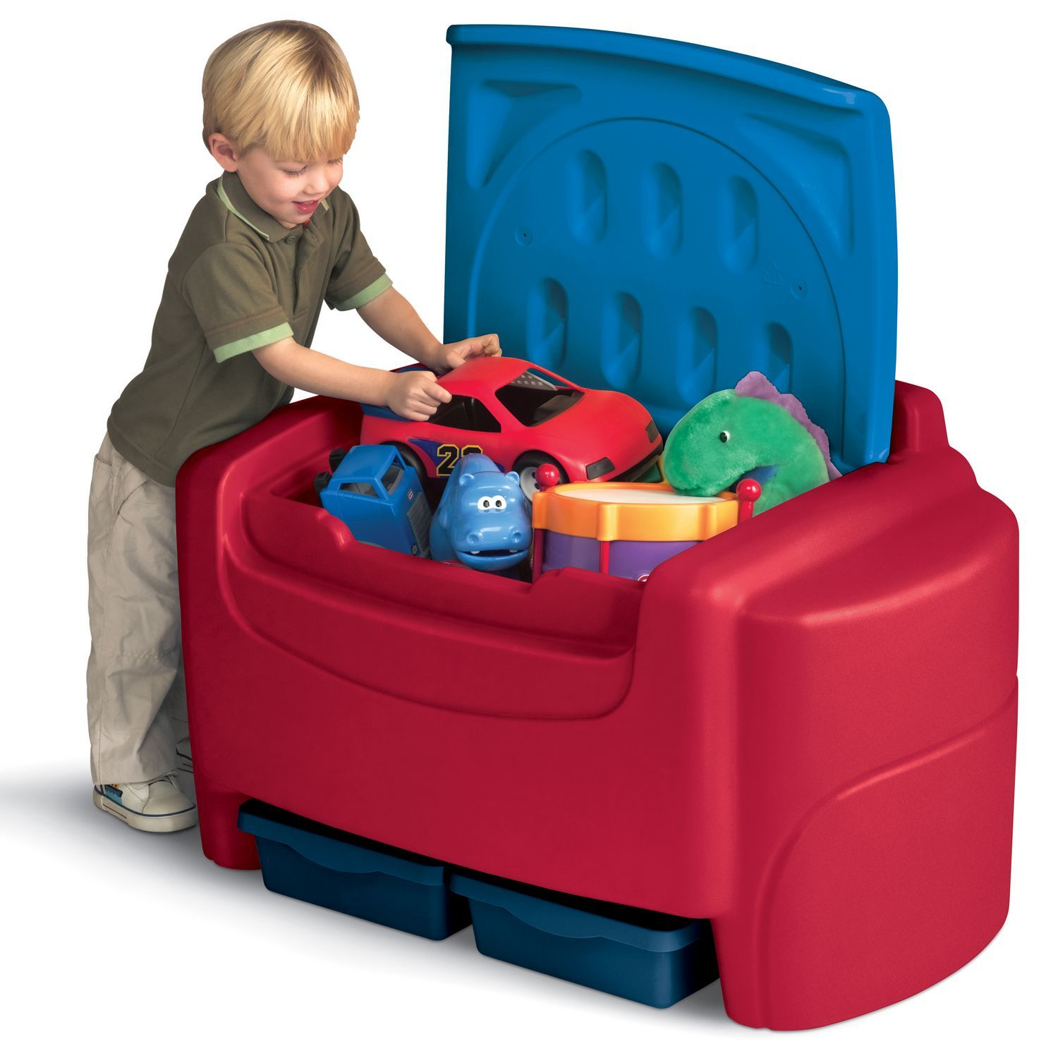 Sort 'n Store Toy Chest- Primary Colors
