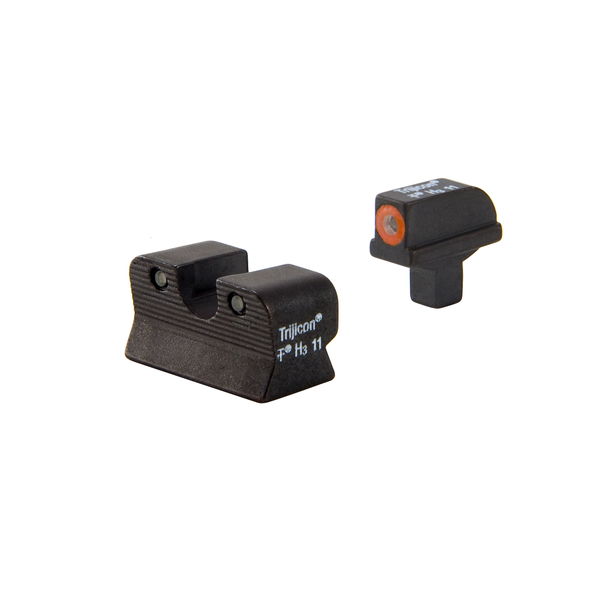 Click here to buy Trijicon HD Night Sight Set 1911 Colt Cut, Orange Front Outline Lamp by Trijicon.