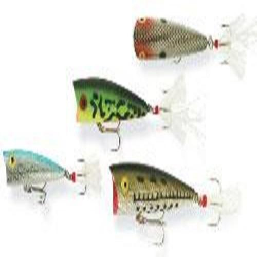 Rebel Lures Pop-R Fishing Lure (2 1 2-Inch, Tennessee Shad) Multi-Colored by REBEL LURES