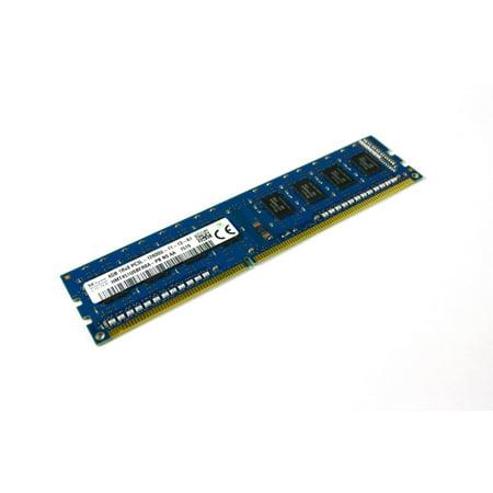 Hynix Ddr Memory - SK Hynix 4GB DDR3L 1Rx8 PC3L-12800U HMT451U6BFR8A-PB Desktop RAM Memory Refurbished