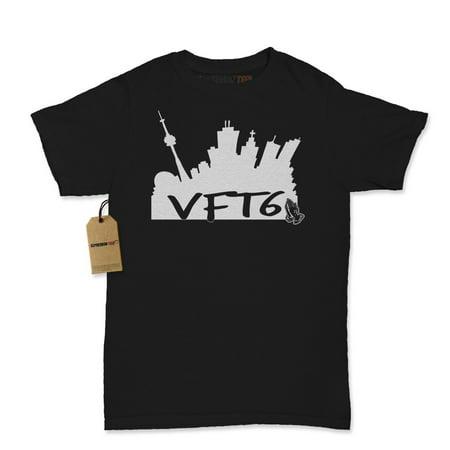 e1e7b68e2fd8f2 Expression Tees - VFT6 Toronto Skyline Womens T-shirt - Walmart.com