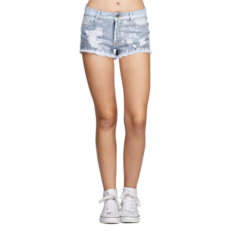 blue jean shorts walmart