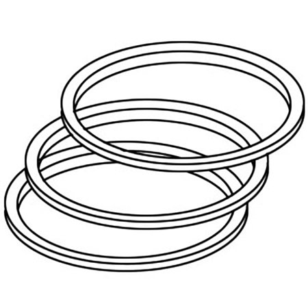 PR164 New Piston Rings Made to fit Case-IH Tractor Models